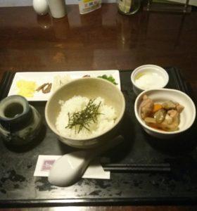 ホテル朝食鶏