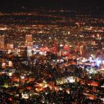 札幌 藻岩山からの夜景