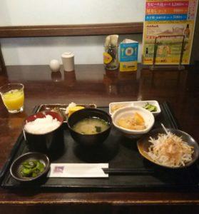 ホテル朝食和食