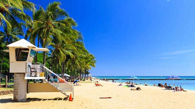 ハワイに遊びに行く