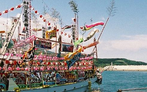 南茅部ひろめ舟祭り