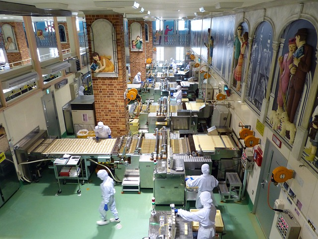 工場の仕事