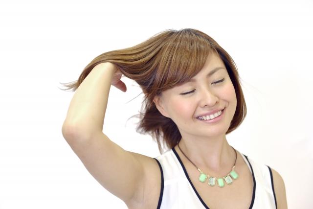 健康的な髪の毛