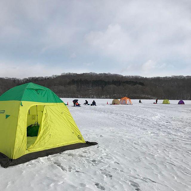 ポロト湖ワカサギ釣り