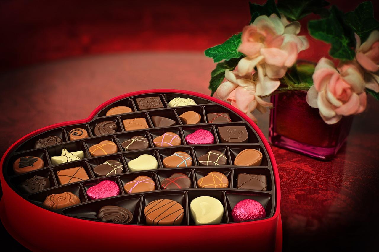 バレンタインチョコ選び